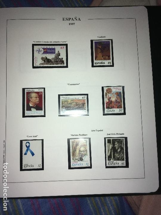 Sellos: MAGNIFICA COLECCION DE SELLOS .6 tomos 1950-2002 - Foto 2 - 144786214