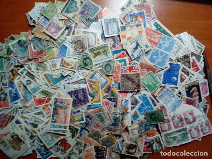 LOTE DE 1000 SELLOS USADOS DEL MUNDO (Sellos - Colecciones y Lotes de Conjunto)