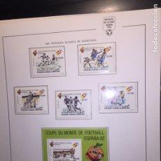 Briefmarken - Colección Álbum Futbol Mundial 82 sellos Mundiales en nuevo envío gratis - 146172444