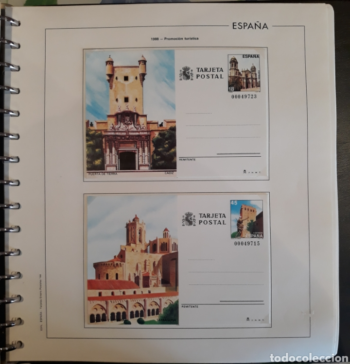 Sellos: Albun tarjetas entero postal 69 tarjetas + album - Foto 25 - 147172709