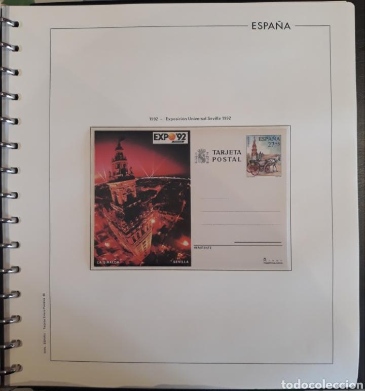 Sellos: Albun tarjetas entero postal 69 tarjetas + album - Foto 30 - 147172709