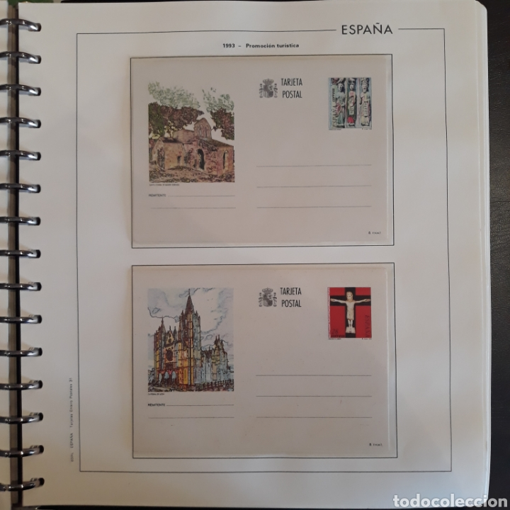 Sellos: Albun tarjetas entero postal 69 tarjetas + album - Foto 31 - 147172709