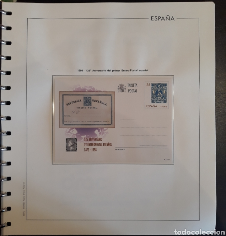 Sellos: Albun tarjetas entero postal 69 tarjetas + album - Foto 37 - 147172709