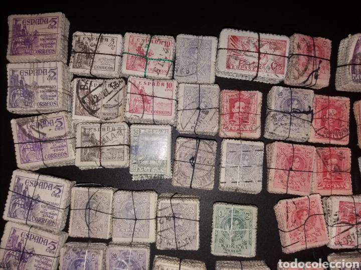 Sellos: Gran lote de sellos españoles,usados. - Foto 2 - 149687192