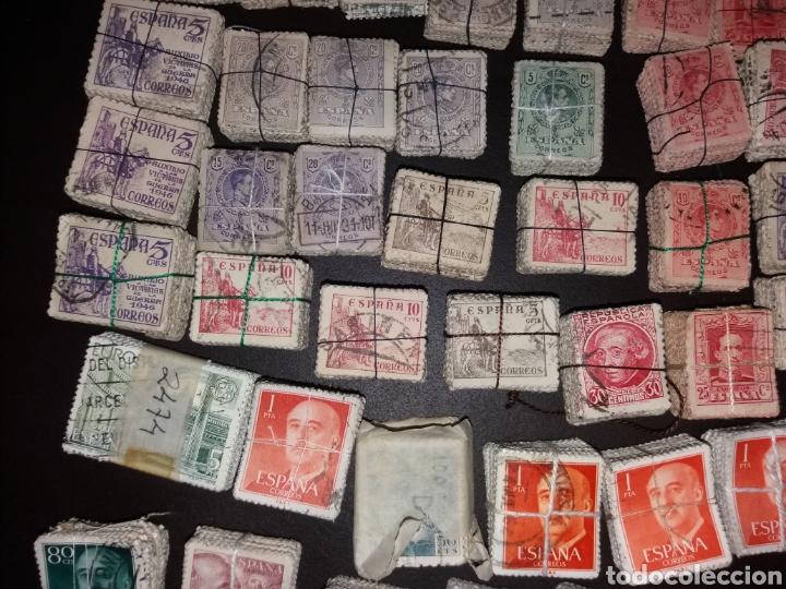 Sellos: Gran lote de sellos españoles,usados. - Foto 3 - 149687192