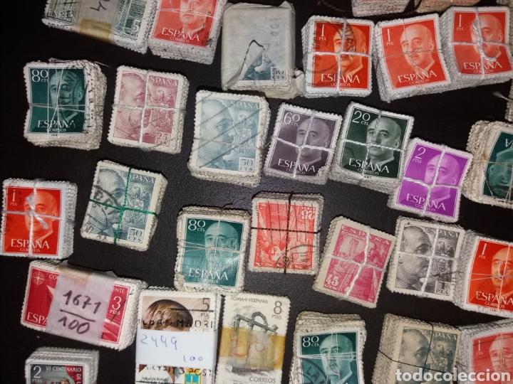 Sellos: Gran lote de sellos españoles,usados. - Foto 4 - 149687192