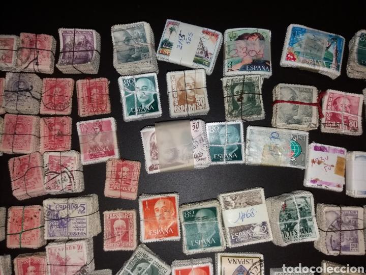 Sellos: Gran lote de sellos españoles,usados. - Foto 6 - 149687192