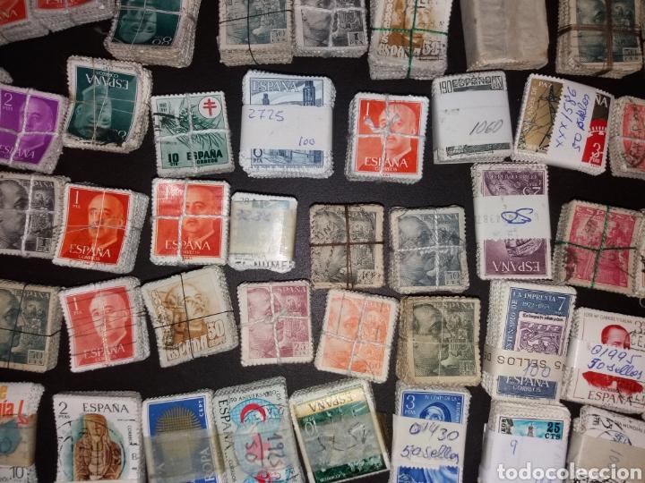 Sellos: Gran lote de sellos españoles,usados. - Foto 8 - 149687192