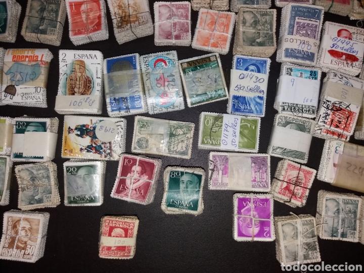Sellos: Gran lote de sellos españoles,usados. - Foto 9 - 149687192