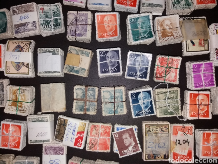 Sellos: Gran lote de sellos españoles,usados. - Foto 11 - 149687192