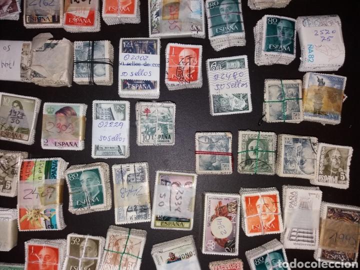 Sellos: Gran lote de sellos españoles,usados. - Foto 12 - 149687192