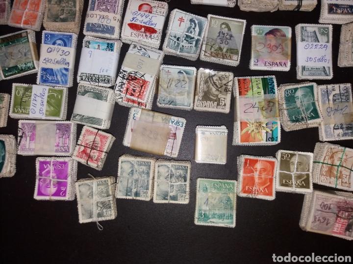 Sellos: Gran lote de sellos españoles,usados. - Foto 13 - 149687192