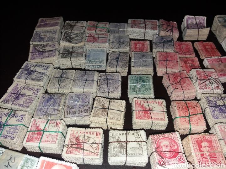 Sellos: Gran lote de sellos españoles,usados. - Foto 14 - 149687192