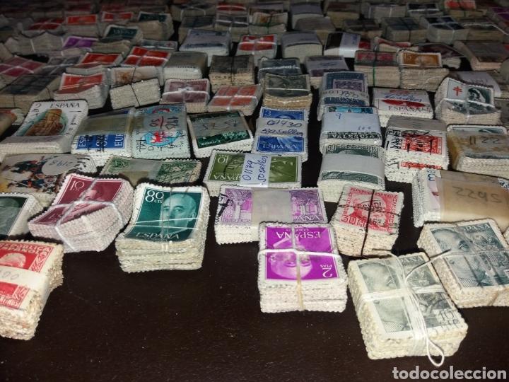 Sellos: Gran lote de sellos españoles,usados. - Foto 17 - 149687192