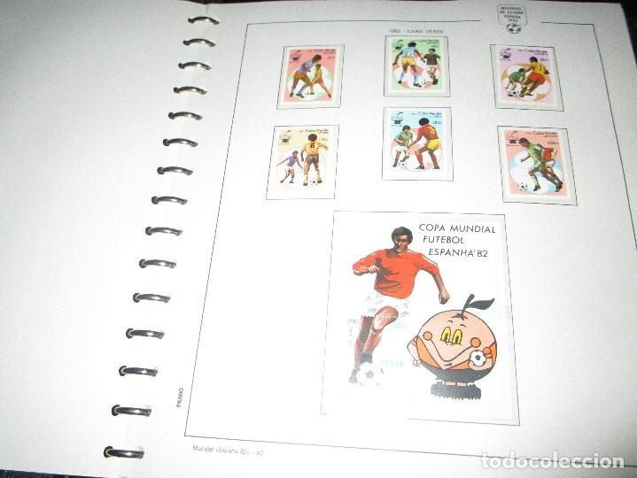 Sellos: 3 tomos ALBUM SELLOS completo MUNDIAL FUTBOL 82 TOMO 1 .2 Y 3 COMPLETO FILABO BUENA CONSERVACION - Foto 14 - 134025674