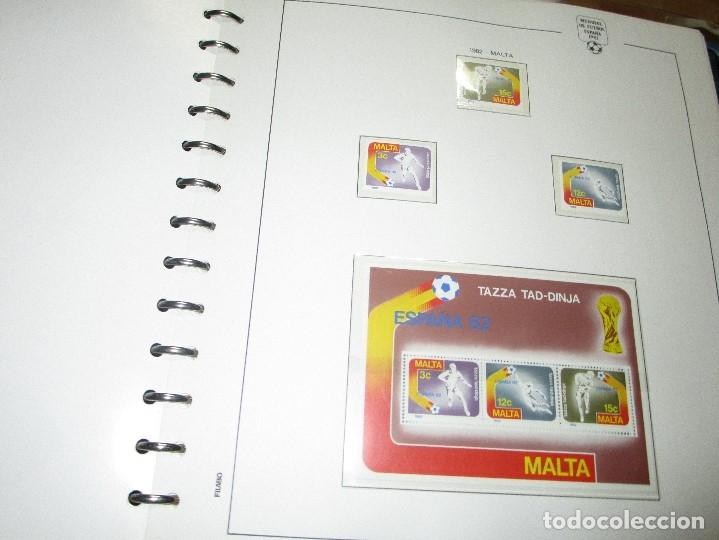 Sellos: 3 tomos ALBUM SELLOS completo MUNDIAL FUTBOL 82 TOMO 1 .2 Y 3 COMPLETO FILABO BUENA CONSERVACION - Foto 16 - 134025674