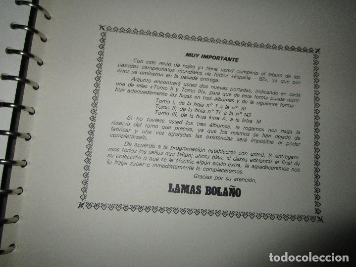 Sellos: 3 tomos ALBUM SELLOS completo MUNDIAL FUTBOL 82 TOMO 1 .2 Y 3 COMPLETO FILABO BUENA CONSERVACION - Foto 22 - 134025674