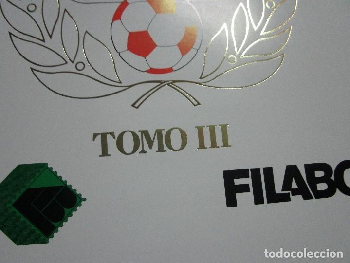 Sellos: 3 tomos ALBUM SELLOS completo MUNDIAL FUTBOL 82 TOMO 1 .2 Y 3 COMPLETO FILABO BUENA CONSERVACION - Foto 21 - 134025674
