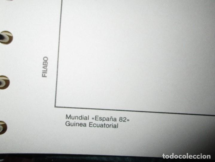 Sellos: 3 tomos ALBUM SELLOS completo MUNDIAL FUTBOL 82 TOMO 1 .2 Y 3 COMPLETO FILABO BUENA CONSERVACION - Foto 24 - 134025674