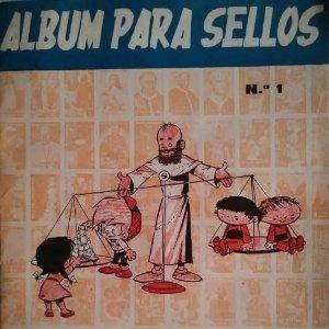 1966 Álbum para sellos. Santa infancia. Número 1. Completo con los 100 sellos