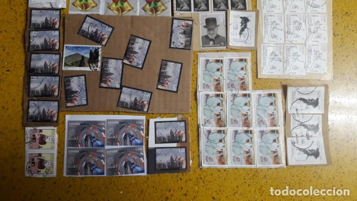 Sellos: sello,s varios , lote,s , usados , matasellados , españoles y estranjeros ... - Foto 3 - 151225642