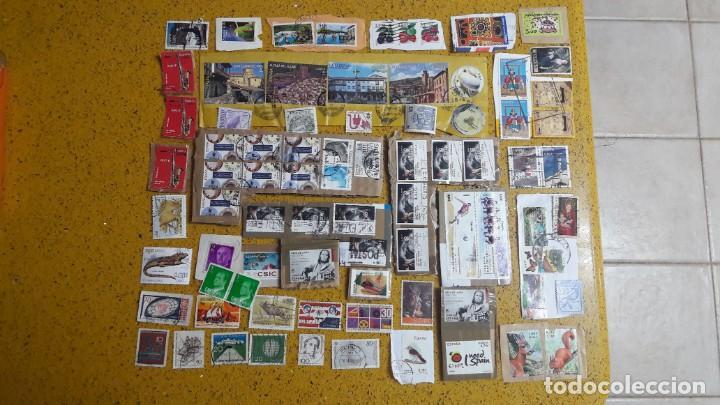 SELLO,S VARIOS , LOTE,S , USADOS , MATASELLADOS , ESPAÑOLES Y ESTRANJEROS ... (Sellos - Colecciones y Lotes de Conjunto)