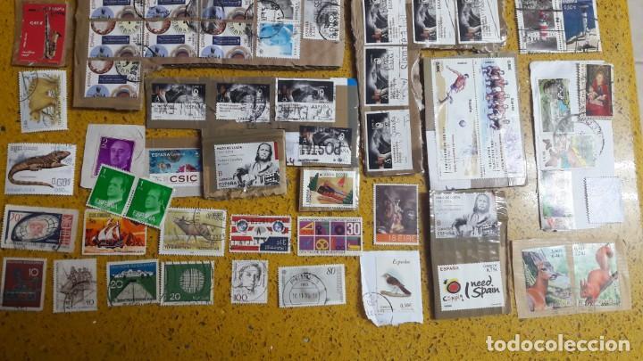 Sellos: sello,s varios , lote,s , usados , matasellados , españoles y estranjeros ... - Foto 3 - 151232846
