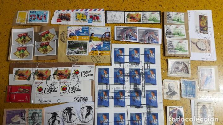 Sellos: sello,s varios , lote,s , usados , matasellados , españoles y estranjeros ... - Foto 2 - 151233450