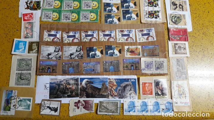 Sellos: sello,s varios , lote,s , usados , matasellados , españoles y estranjeros ... - Foto 3 - 151234790