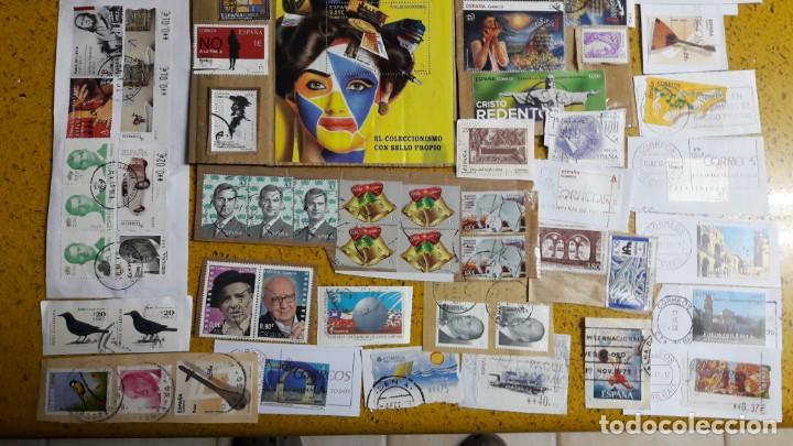 Sellos: sello,s varios , lote,s , usados , matasellados , españoles y estranjeros ... - Foto 3 - 151235066