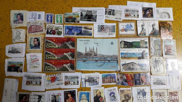 Sellos: sello,s varios , lote,s , usados , matasellados , españoles y estranjeros ... - Foto 2 - 151235266