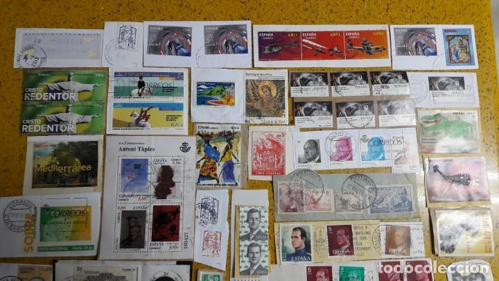Sellos: sello,s varios , lote,s , usados , matasellados , españoles y estranjeros ... - Foto 2 - 151235446