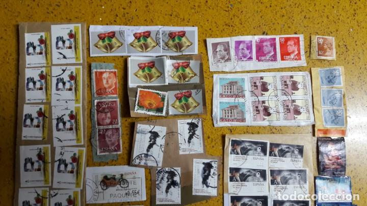 Sellos: sello,s varios , lote,s , usados , matasellados , españoles y estranjeros ... - Foto 2 - 151235906