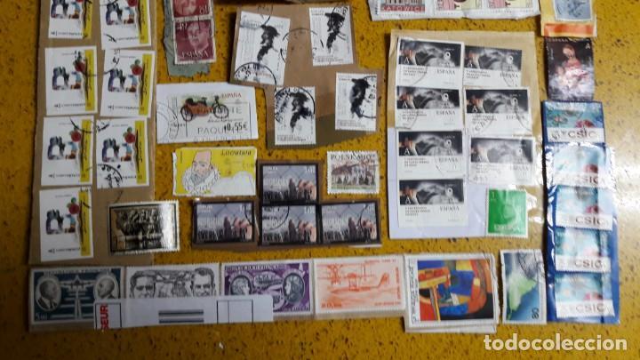 Sellos: sello,s varios , lote,s , usados , matasellados , españoles y estranjeros ... - Foto 3 - 151235906