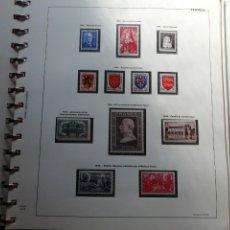 Sellos: FRANCIA. 1900-1949 ALBUM CAFISA CON 525 SELLOS NUEVOS PERFECTOS. PERÍODO 1900-1949. ALTO VALOR. Lote 151399110