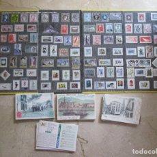 Sellos: HISTORIA POSTAL DE MALAGA - 1850-2000 - COLECCION 100 SELLOS METALICOS Y 100 POSTALES -. Lote 152637174