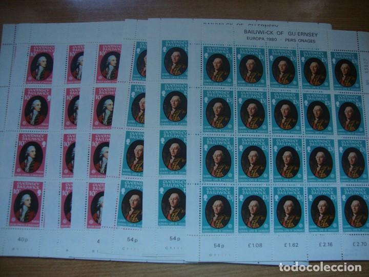 Sellos: TEM EUROPA AÑO 1980 BLOQUE DE 4 Y MAS VER FOTOS Y DESCRIPCION - Foto 6 - 154991890