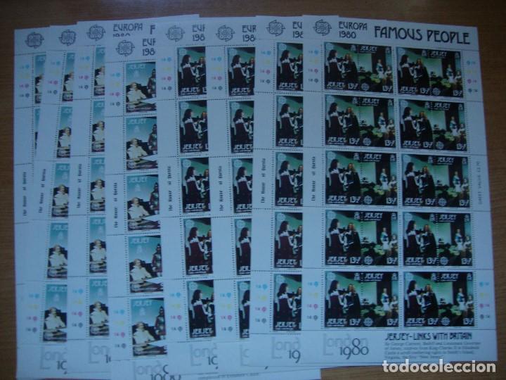 Sellos: TEM EUROPA AÑO 1980 BLOQUE DE 4 Y MAS VER FOTOS Y DESCRIPCION - Foto 7 - 154991890