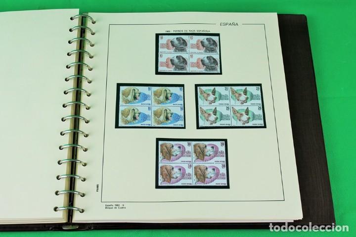 Sellos: Colección de sellos de España en bloques de cuatro. Corresponde al periodo 1980 a 1997 - Foto 3 - 155555654
