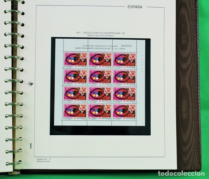 Sellos: Colección de sellos de España en bloques de cuatro. Corresponde al periodo 1980 a 1997 - Foto 5 - 155555654