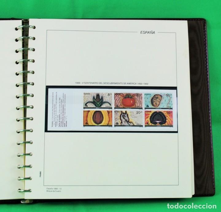 Sellos: Colección de sellos de España en bloques de cuatro. Corresponde al periodo 1980 a 1997 - Foto 6 - 155555654