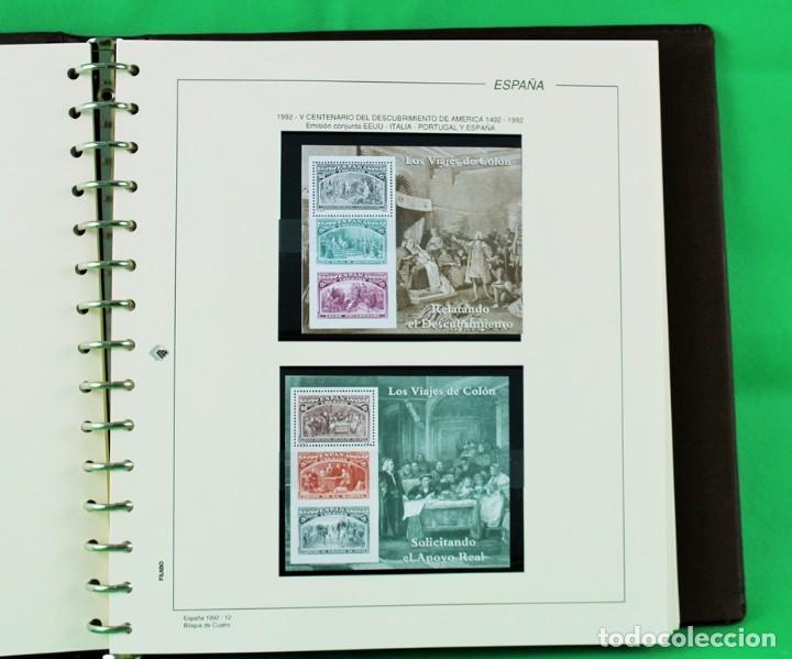 Sellos: Colección de sellos de España en bloques de cuatro. Corresponde al periodo 1980 a 1997 - Foto 8 - 155555654