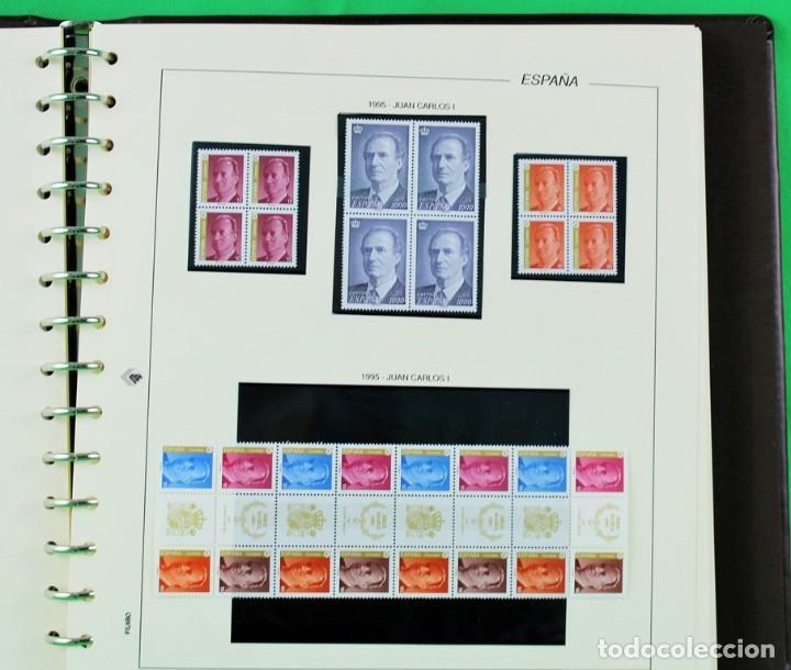 Sellos: Colección de sellos de España en bloques de cuatro. Corresponde al periodo 1980 a 1997 - Foto 10 - 155555654