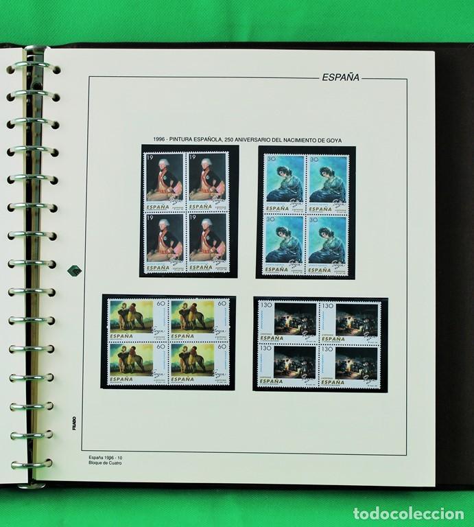 Sellos: Colección de sellos de España en bloques de cuatro. Corresponde al periodo 1980 a 1997 - Foto 11 - 155555654