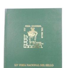 Sellos: ALBUM XIV FERIA NACIONAL DEL SELLO AÑO 1981 NUMERADO NUMERO 14 DE 500. Lote 155569390