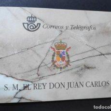 Sellos: ESPAÑA. AÑO 1998.CARNE DON JUAN CARLOS I.. Lote 155870222