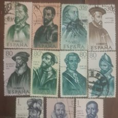 Sellos: COLECCIÓN DE SELLOS DE ESPAÑA PERSONAJES HISTORICOS, CIRCULADOS.. Lote 156485158