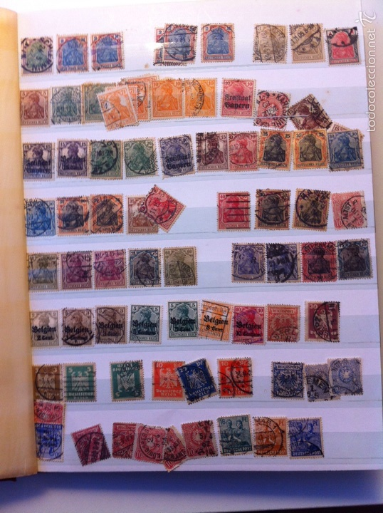 LOTE SELLOS CLASIFICADOR MUNDIAL (Sellos - Colecciones y Lotes de Conjunto)