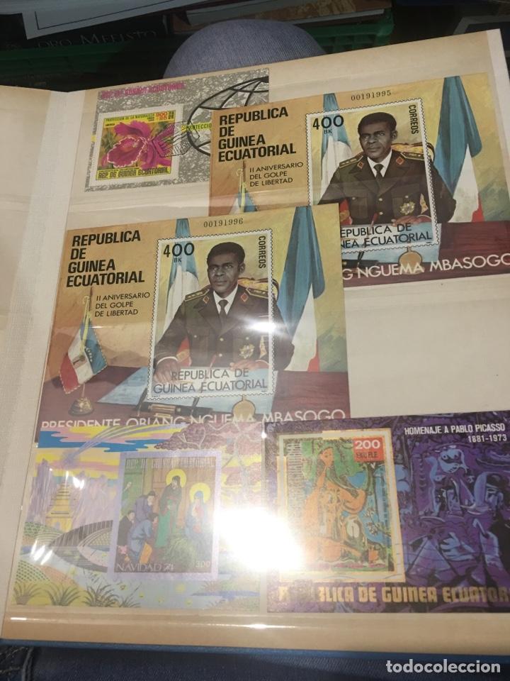 Sellos: Colección de 87 hojas bloque de españa Guinea Alemania y holanda - Foto 3 - 158795048