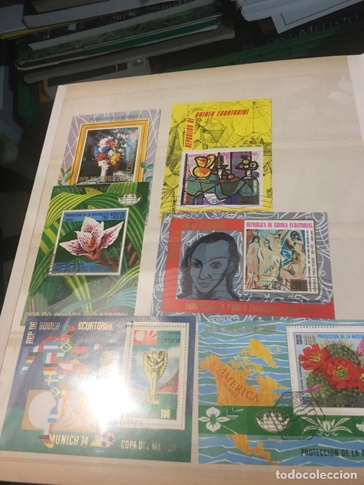 Sellos: Colección de 87 hojas bloque de españa Guinea Alemania y holanda - Foto 4 - 158795048